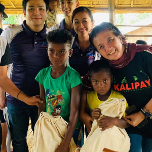 Bringing joy to the Aeta community