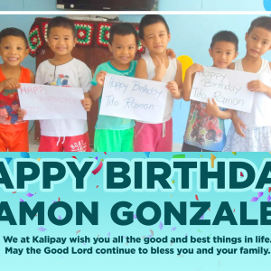 Happy Birthday, Ramon Gonzalez!