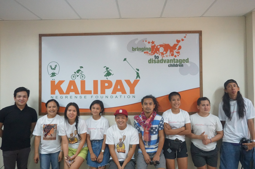 Association of Negros Artists Bring Joy To Kalipay