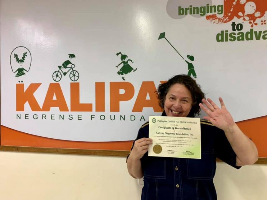 PCNC Accredits Kalipay