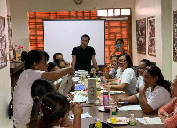 Kalipay Staff Undergo Case Management Training