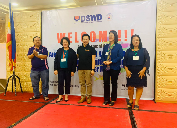 Kalipay Executive Director elected as National Vice Chairperson of DSWD-ABSNET