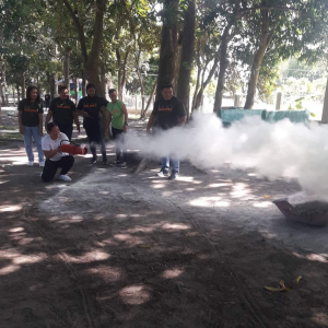 Kalipay Staff Have Fire Drill and Fire Prevention Training