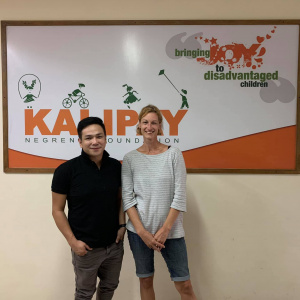 Kalipay Friend Visits Office