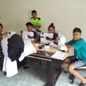 Kalipay Kids Face Mask Project