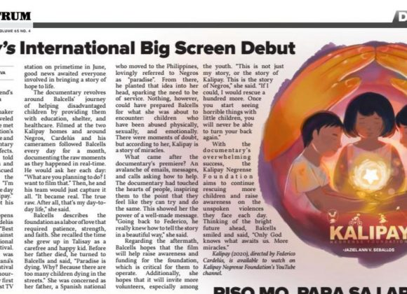 The Spectrum Features KALIPAY