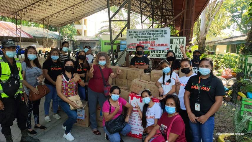 KALIPAY Donates To Fire Victims