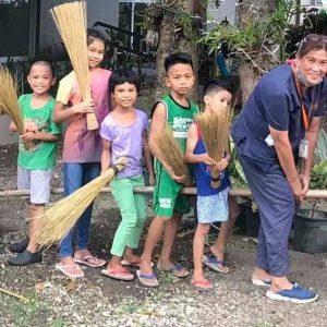 Kalipay Kids Make Mats and Brooms